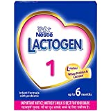 Nestle LACTOGEN 1 Infant Formula Powder - Upto 6 months, Stage 1, 400g BIB Pack