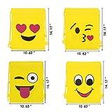 Konsait Emoji Turnbeutel für Kinder (12 Pack)...Vergleich
