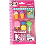 Parteet Different Shapes Erasers for Kids (Pack of 1) for Birthday Party Return Gifts
