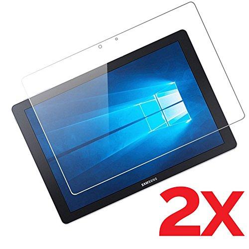 TabPro S 12 2x Vetro Pellicola schermo per SAMSUNG GALAXY TAB Pro S 12.0 W700 W708 ( versioni WI-FI 3G 4G LTE ) vetro temperato 9h 2,5d ultra sottile + KIT PULIZIA