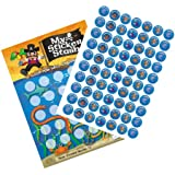 A4 Pirate Reward Chart with Stickers