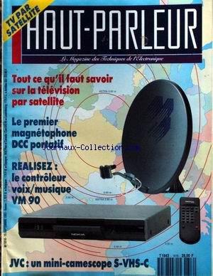 HAUT PARLEUR [No 1816] du 15/09/1993 - L...