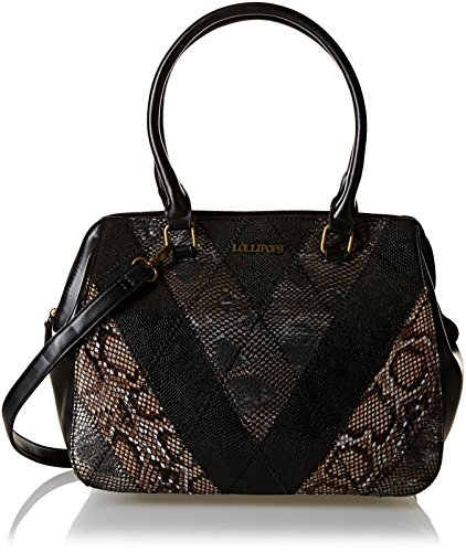 Lollipops Yatch 22249, Borsa a spalla donna , Nero (Black (nero)), Taille Unique