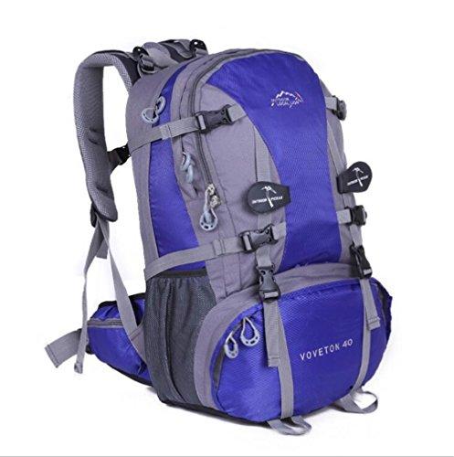 Wmshpeds Multi-funzionale spalla maschio femmina borsa zaino escursionismo outdoor borsa da viaggio 40L di grande capacità sacco da campeggio E