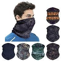 WharFlag Sports Headband Bandana - Outdoors Headwear, Wide Headband, Multifunctional Headwear, Causual Headwear Seamless Bandana Breathable Headband Headwrap for Women Men (B-Cool 1)