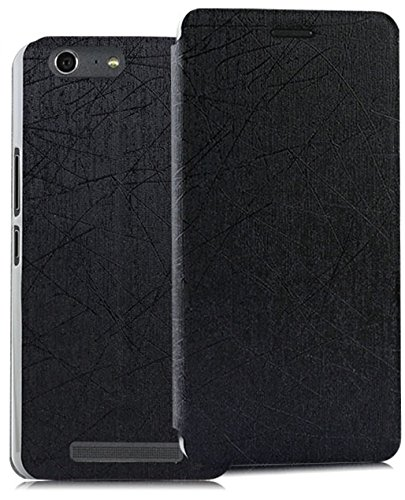 FAD-E Fashion Series Flip / Folder Case for Gionee Marathon M5 (5.5 Inch) - Fashion Black  available at amazon for Rs.345
