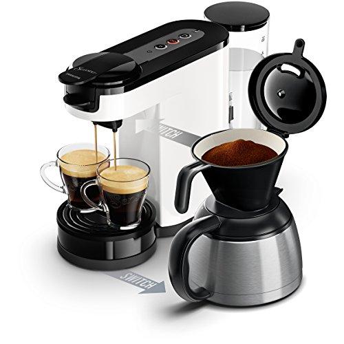 Senseo HD7892/00 Switch 2-in-1 Kaffeemaschine für Filter und Pads,Weiß - 4