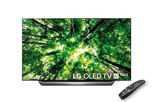 "LG OLED65C8PLA - Smart TV 4K OLED, 65"", con Inteligencia Artificial, Procesador Alpha 9, 100% HDR, Dolby Vision/Atmos, HDMI 4, Color Negro"