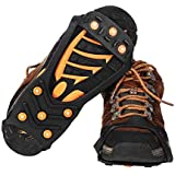amiciCare Anti-Skid Ice Snow Outdoor Camping, Hiking, Climbing Spike Grip Walking Shoes