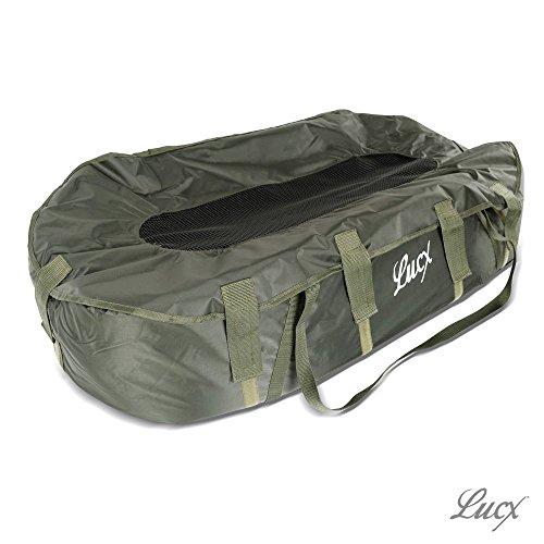 Lucx® Abhakmatte Carp Cloud / Unhooking Matt / Carp Cradle für Karpfen, Maße (L/B/H): 114 x 63 x 25 cm