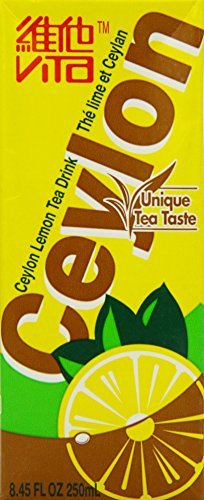 Vita Lemon Ceylon Tea 250 ml (Pack of 24)