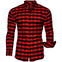suchergebnis auf f r hemd rot schwarz kariert. Black Bedroom Furniture Sets. Home Design Ideas