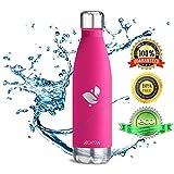 Aorin 500ml Trinkflasche (Rose Red) - 2