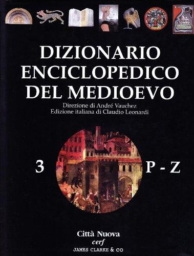 Dizionario enciclopedico del Medioevo: 3