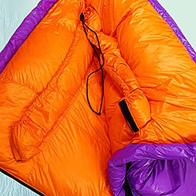 Outdoor Sports backpacks Sleeping Bag Ultra Light Cold Warm Envelope With Cap Cotton Sleeping Bag Portable Single Breathable Sleeping Bag Suitable For Outdoor Camping Can accommodate most of daily necessities - trekking-rucksacks