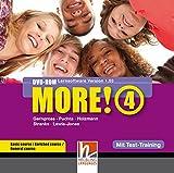MORE! 4 DVD-ROM mit Schularbeiten-Training: Einzelplatzversion f�r Basic/Enriched/General Bild