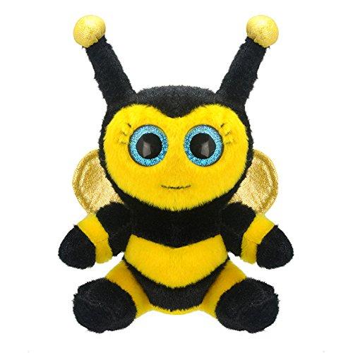 Wild Planet K7841 - Kuscheltier Biene, 15 cm