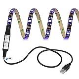 Lumires-impermables-Ldex-TV-LED-rtro-clairage-50cm-5V-RVB-appropris-pour-les-tlviseurs-les-ordinateurs-de-bureau-rservoir-de-poissons-dcoration-de-voiture-50cm