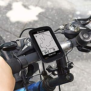 kwmobile Funda para Bryton Rider 530 - Carcasa de [Silicona] para GPS - Cover para GPS de Bicicleta en [Negro]