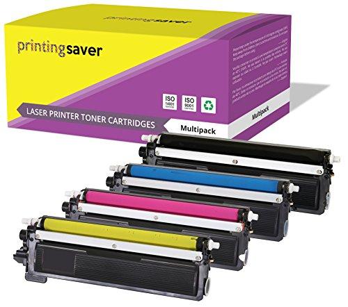 TN230 Printing Saver Set 4 Toner kompatibel für Brother DCP-9010CN, HL-3040CN, HL-3045CN, HL-3070CN, HL-3070CW, HL-3075CW, MFC-9120CN, MFC-9125CN, MFC-9320CW, MFC-9325CW drucker - Drucker Brother Mfc9320cw