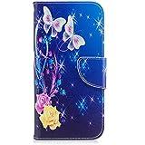 Pheant® Samsung Galaxy S7 Edge Étui à Rabat Coque Gel Pochette en Cuir PU avec avec Carte de Crédit Fente et Fermeture Magnétique