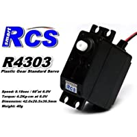 Price comparsion for 2x RCS Model R4303 RC High Speed & Torque R/C Hobby Standard Servo CA139