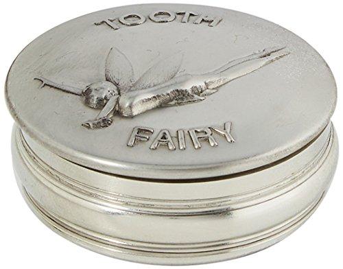Edwin Flasque & Co pour Enfant dent de Lait Motif Boîte à Bijoux en étain, 50 mm,