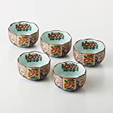 (5 Set)Modelli giapponesi Hasamiyaki porcellana Imari Kobachi Fruttiere,Tazze da Consommé,Insalatiere tradizionale Dal Giappone