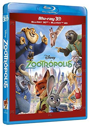 Zootrópolis (BD + BD 3D) [Blu-ray] 51xkxTWWzoL