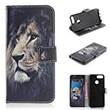 COZY HUT ZTE Blade V9 Case, Premium PU Folio Leather Wallet