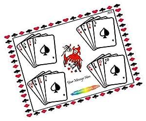 Party Stuff Playing Cards Theme Tambola Housie Tickets - Playing Cards kukuba 6 - Designer Kukuba (16 Cards) | Kitty Games