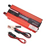 SAILFLO Digital Display Car Power Inverter 2000W 12V DC a Port 220V / 230V / 240V AC USB di...