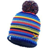 Buff Knitted&Polar Gorro, Niños, Azul (Lasse Blue / Navy), Talla Única