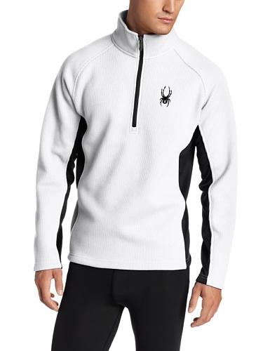Spyder Herren Outbound 1/2Zip Core Sweater Weiß/Schwarz
