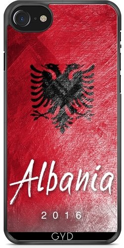Hülle für Iphone 6 Plus (5,5'') - Albanien-Flagge by Julien Kaltnecker Plastique Rigide