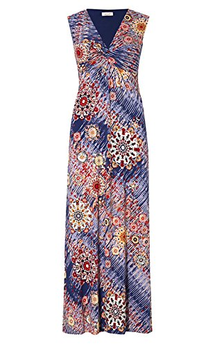 ms-marks-spencer-per-una-summer-maxi-dress-ikat-fit-flare-reg-or-long-size-12-regular