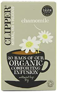 Clipper Organic Infusion Chamomile 20 Tea Bags (Pack of 6)