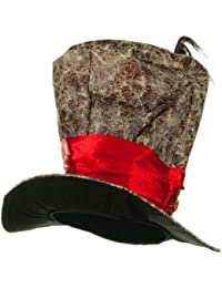 Top Hat - Brown Red W36S14D