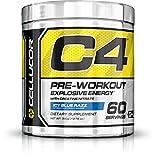 Cellucor C4 G4 - Pre-Workout-Pulver mit Creatin - Icy Blue Razz (Himbeere) - 60 Portionen