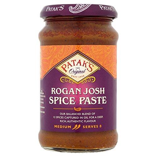 Rogan Josh Currypaste (Tomate & Paprika) - Patak's 283g