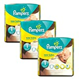 Couches Pampers - Taille 1 New Baby Premium Protection - 69 Couches Bébé