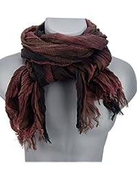 Écharpes foulard d'homme élégant et tendance de la dernière collection by Ella Jonte Casual-style rouge burgund