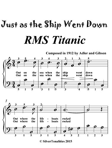 just-as-the-ship-went-down-easiest-piano-sheet-music-for-beginner-pianists-english-edition