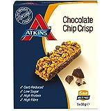 Atkins DB Chocolate Chip Crisp Barritas - Paquete de 5 barritas x 30 gr - Total: 150 gr