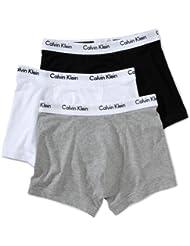 Calvin Klein Underwear - Low Rise Trunk - Lot de 3 Boxers - Uni - Homme