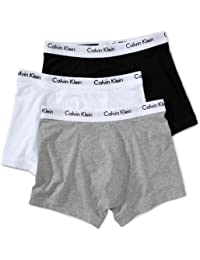 Calvin Klein Men's Pack of 3 Low raise Classic Fit Trunk