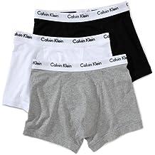Calvin Klein Underwear Men's Pack Of 3 Trunk Shorts