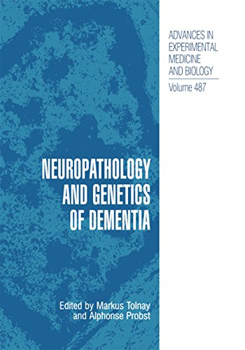 Neuropathology And Genetics Of Dementia (advances In Experimental Medicine And Biology Book 487) por Markus Tolnay
