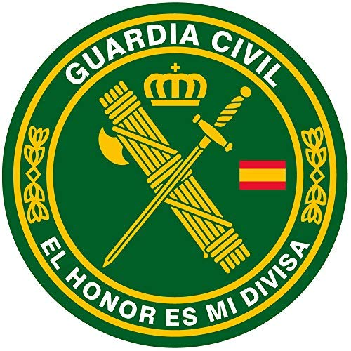 Artimagen Pegatina círculo Guardia Civil El Honor