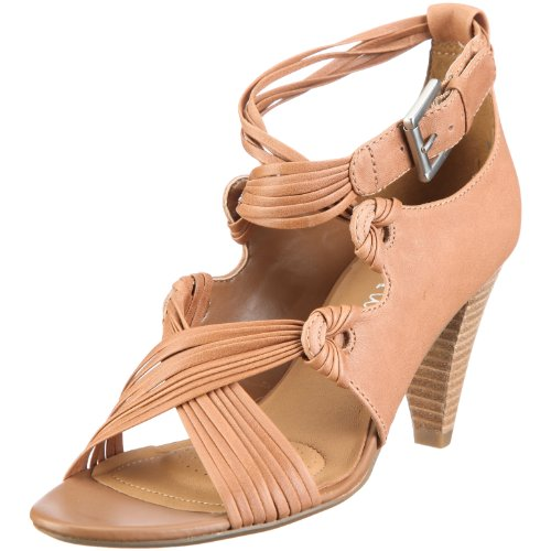 Clarks 20344157 Thai Run, Damen Sandalen/Fashion-Sandalen, Beige (Driftwood Lea), EU 40, (UK 6.5)